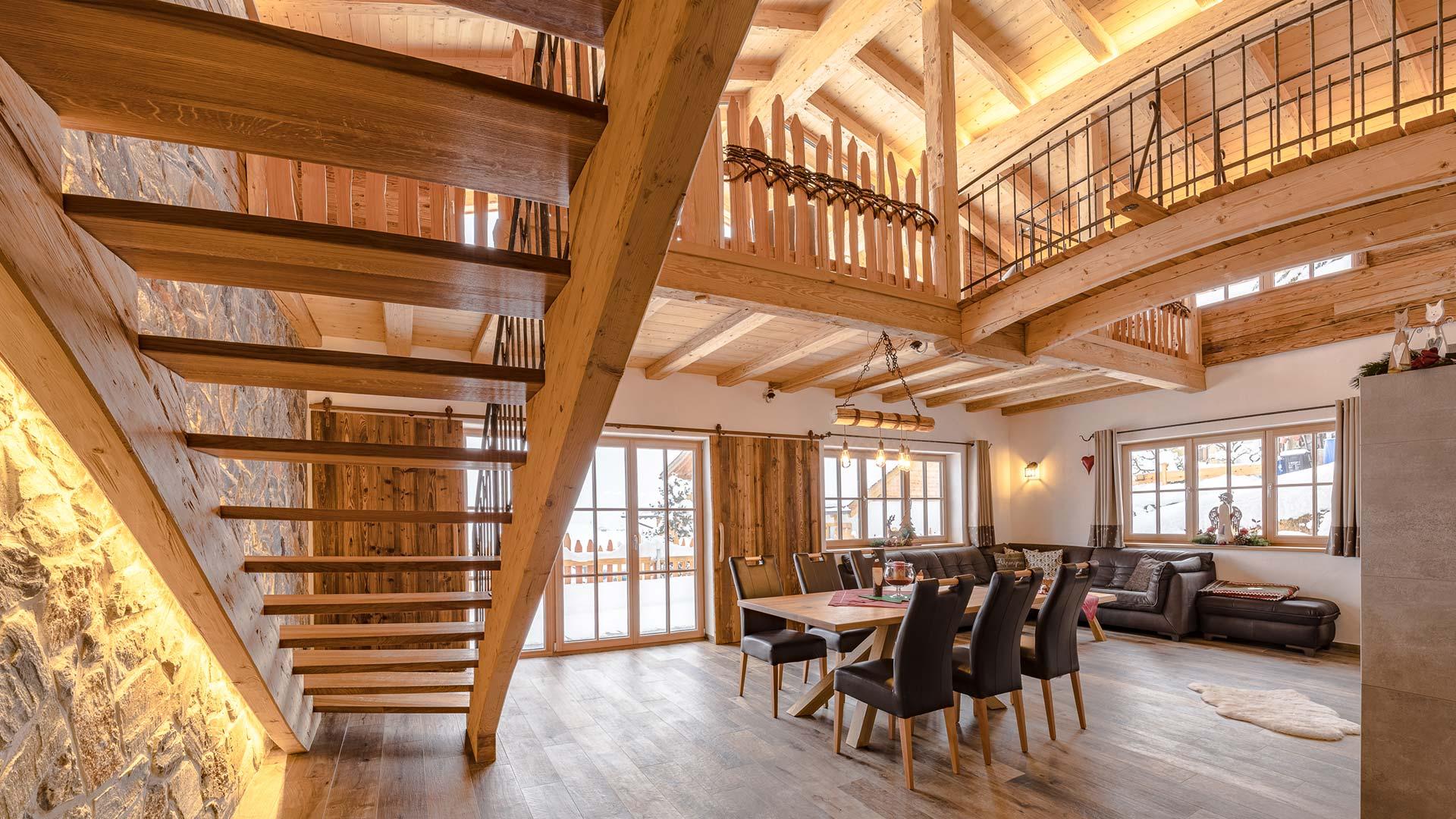 5-Sterne - Ferienhaus - Chalet Alpengruß - Urlaub in Bayern